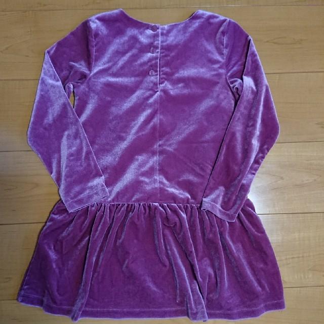 GU(ジーユー)のワンピース 130cm キッズ/ベビー/マタニティのキッズ服女の子用(90cm~)(ワンピース)の商品写真