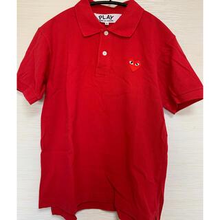 コムデギャルソン(COMME des GARCONS)のPLAY COMME des GARCONS ポロシャツ(ポロシャツ)