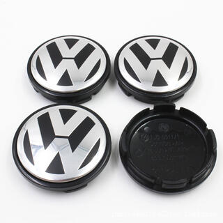 Volkswagen - 【4個】フォルクスワーゲン ホイールセンターキャップ VW