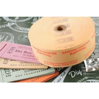 【裏フェチ】◆海外 イギリス ヴィンテージ バス ロールチケット EASTE◆(印刷物)