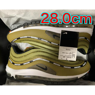 UNDEFEATED - UNDEFEATED x NIKE AIR MAX 97  28cm