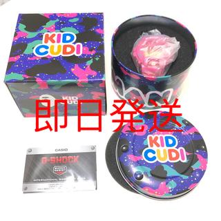 アベイシングエイプ(A BATHING APE)のBAPE KID CUDI G-SHOCK DW6900 ベイプ Gショック (腕時計(デジタル))