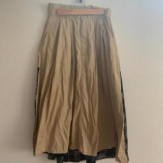 アズールバイマウジー(AZUL by moussy)の最終値下げ!アズールバイマウジーのスカート(ひざ丈スカート)