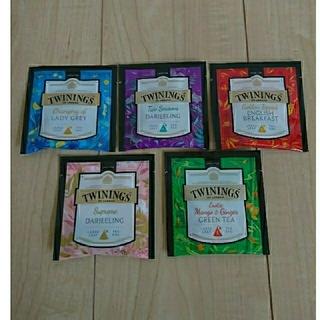 新品&未開封☆ラージリーフティーバッグ 紅茶5点  お試しセット(茶)