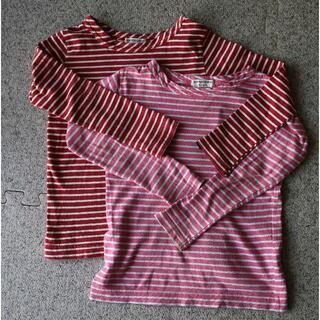 アンパサンド(ampersand)の長袖Tシャツ 110cm 双子(Tシャツ/カットソー)