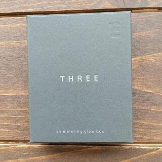 スリー(THREE)のTHREE シマリンググローデュオ 01(フェイスカラー)