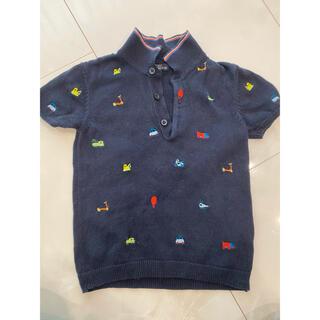 ネクスト(NEXT)のnext 刺繍ポロシャツ(ニット/セーター)