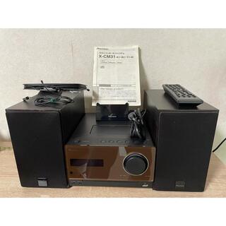 パイオニア(Pioneer)のPioneer X-CM31 CDミニコンポシステム(ポータブルプレーヤー)