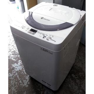 SHARP - 【送料込み】全自動洗濯機 カビない穴なし槽 シャープ