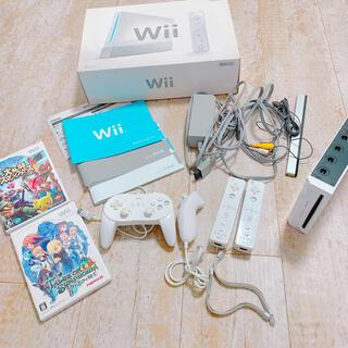 Wii - Wii 本体一式 スマブラ テイルズ すぐに遊べるセット