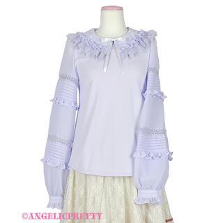 アンジェリックプリティー(Angelic Pretty)のフリル襟ピンタックカットソー(カットソー(長袖/七分))