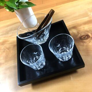 グラス•アイスペール 5点セット「焼酎道楽」(アルコールグッズ)