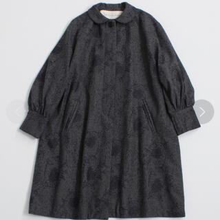 アトリエドゥサボン(l'atelier du savon)のアトリエドゥサボン クジャクの毛プリント コート(ロングコート)