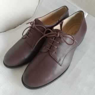 マリークラブ(Marie Club)のレースアップシューズ 23 EE マリークラブ ブラウン 茶 革靴(ローファー/革靴)
