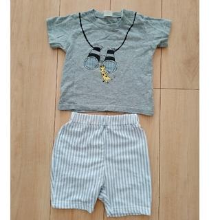 アカチャンホンポ(アカチャンホンポ)の半袖+ハーフパンツセット(シャツ/カットソー)