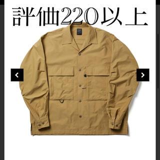 ダイワ(DAIWA)のDAIWA PIER39 TECH MIL OPEN L/S ベージュ(ミリタリージャケット)