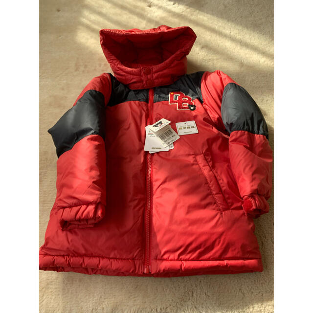 DOUBLE.B(ダブルビー)のダブルBダウンジャケット サイズ120 キッズ/ベビー/マタニティのキッズ服男の子用(90cm~)(ジャケット/上着)の商品写真
