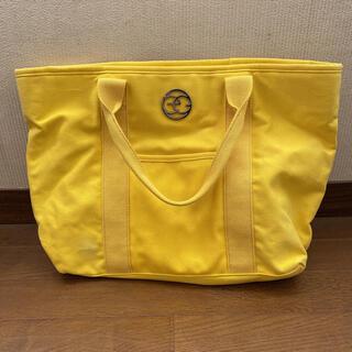 エゴイスト(EGOIST)のEGOIST 黄色 トートバッグ 大きいサイズ(トートバッグ)