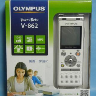 オリンパス(OLYMPUS)のオリンパス  V-862 WHT ICレコーダー  ホワイト          (ポータブルプレーヤー)