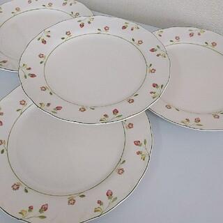 ニッコー(NIKKO)のNIKKO♡Provincial Designs いちごディナープレート4枚(食器)