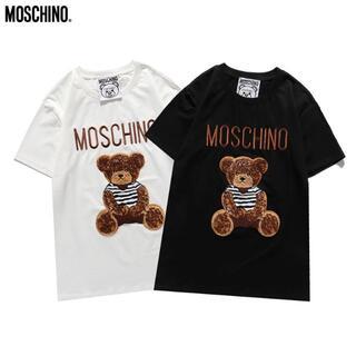 MOSCHINO - 新作「2枚8000円送料込み」#モスキーノ#0602 ベア柄 夏Tシャツ 半袖