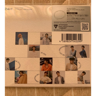 セブンティーン(SEVENTEEN)の最終値下げ SEVENTEEN 24H 初回限定版C トレカ フォトブック(K-POP/アジア)
