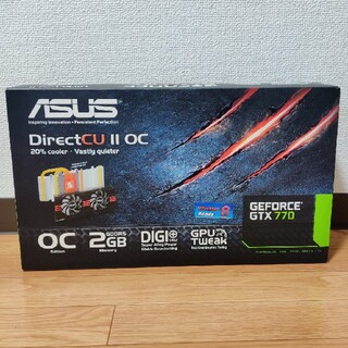 エイスース(ASUS)の値下げ中!【ASUS】Geforce GTX 770 グラフィックボード(PCパーツ)