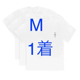 カクタス(CACTUS)のTravis Scott CJ White Tee   Mサイズ 1枚 (Tシャツ/カットソー(半袖/袖なし))