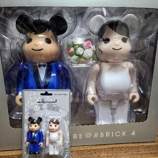 メディコムトイ(MEDICOM TOY)のBE@RBRICK グリーティング結婚 4 PLUS 100%&400%(その他)