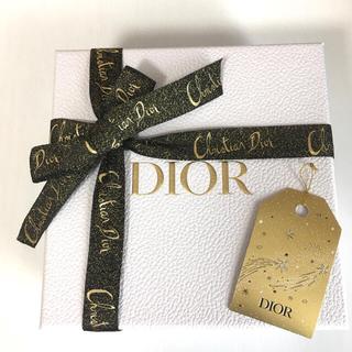クリスチャンディオール(Christian Dior)のDior ギフトボックス ホリデー限定 リボン ラッピング(ショップ袋)
