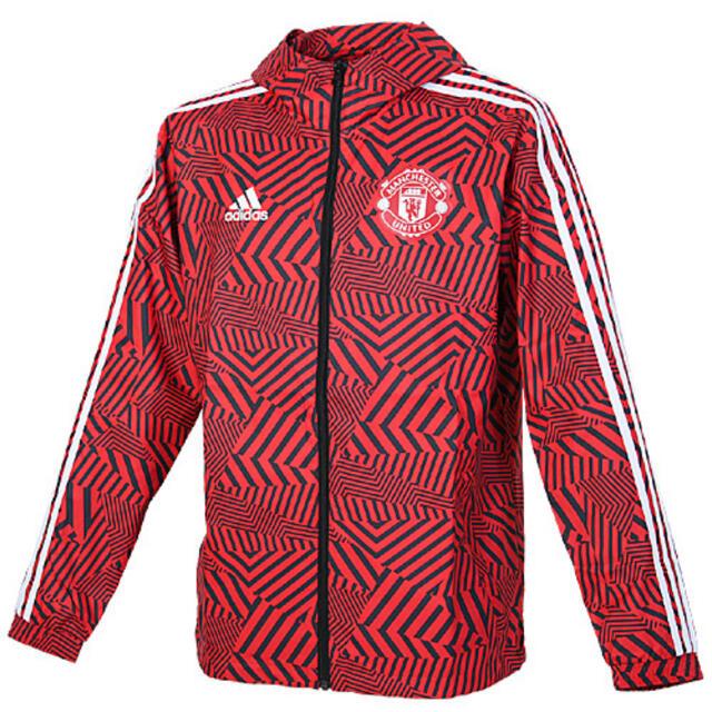 adidas(アディダス)のマンチェスターユナイテッド 20-21シーズン トレーニングウェア L スポーツ/アウトドアのサッカー/フットサル(ウェア)の商品写真
