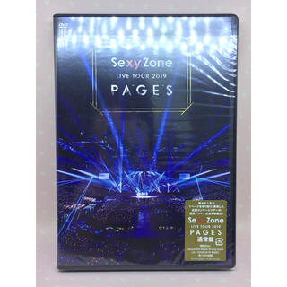 Sexy Zone - Sexy Zone LIVE TOUR 2019 PAGES DVD 通常盤