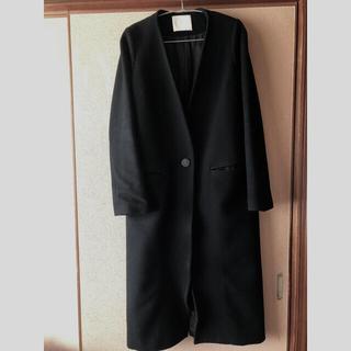 mame - mame kurogouchi ロングコート 黒