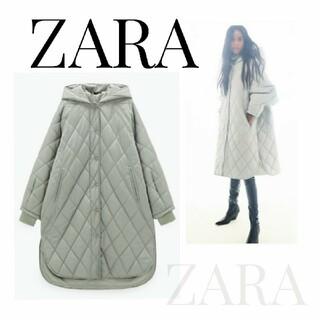 ZARA - ZARA キルティング オーバーサイズダウンコート