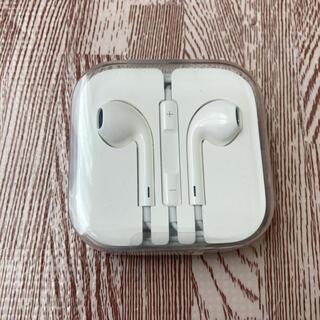 アップル(Apple)のiPhone純正イヤホン iPhoneイヤホン 純正品(ストラップ/イヤホンジャック)