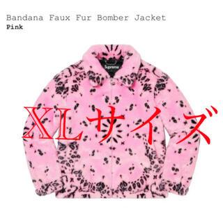 Supreme - supreme Bandana Fur Bomber Jacket XL