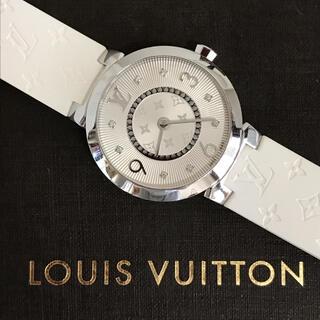 ルイヴィトン(LOUIS VUITTON)の*専用になりました*ルイヴィトン*レディース腕時計 タンブール モノグラムラバー(腕時計)