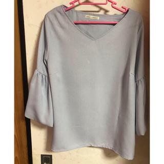ナイスクラップ(NICE CLAUP)のバルーン袖ブラウス(Tシャツ(長袖/七分))