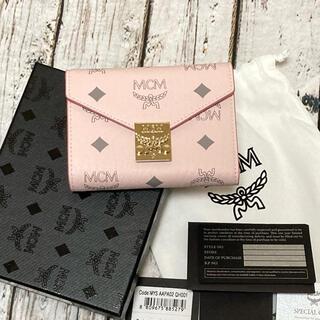 MCM - 新品未使用 MCM 三つ折り財布 スモール パトリシア モノグラム