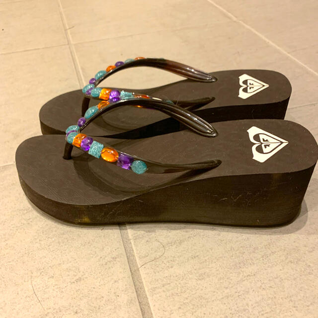 Roxy(ロキシー)の【ROXY】厚底シューズ ビーチサンダル レディースの靴/シューズ(ビーチサンダル)の商品写真