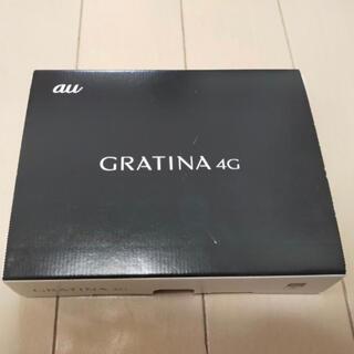京セラ - 【未使用】simロック解除済 au GRATINA 4G KYF31 ブラック