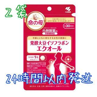 コバヤシセイヤク(小林製薬)の小林製薬 栄養補助食品 発酵大豆イソフラボン エクオール 30粒 2袋(その他)
