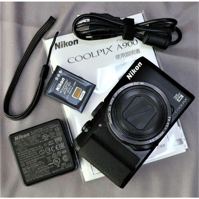 Nikon(ニコン)の美品 自撮り 35倍ズームコンデジ  4K動画・WiFi搭載 スマホ/家電/カメラのカメラ(コンパクトデジタルカメラ)の商品写真