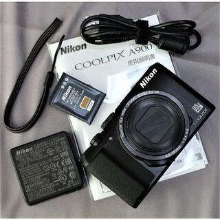 Nikon - 美品 自撮り 35倍ズームコンデジ  4K動画・WiFi搭載