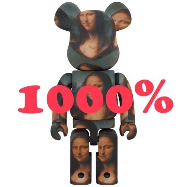 MEDICOM TOY(メディコムトイ)のBE@RBRICK Mona Lisa 1000% エンタメ/ホビーのフィギュア(その他)の商品写真