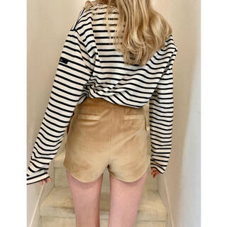 ロキエ(Lochie)のepine♥side slit velours short pants(ショートパンツ)