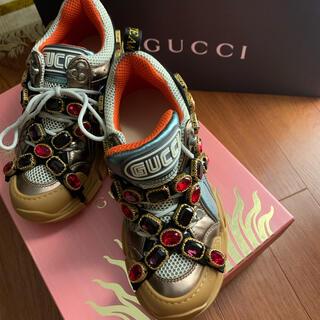 Gucci - GUCCI フラッシュトレックスニーカー