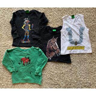 アンダーカバー(UNDERCOVER)のアンダーカバーベビー  under cover baby  Tシャツ 4枚セット(Tシャツ/カットソー)