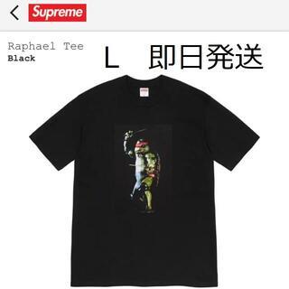 シュプリーム(Supreme)の新品 Supreme Rafael tee 黒L(Tシャツ/カットソー(半袖/袖なし))