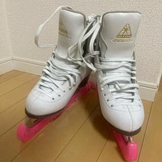 フィギュアスケート靴/初心者向け/24.5cm(スポーツ)